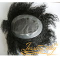 4 In Beautie Super Good Quality Hair Product Afro Curl Men's Toupee Customized Hair system