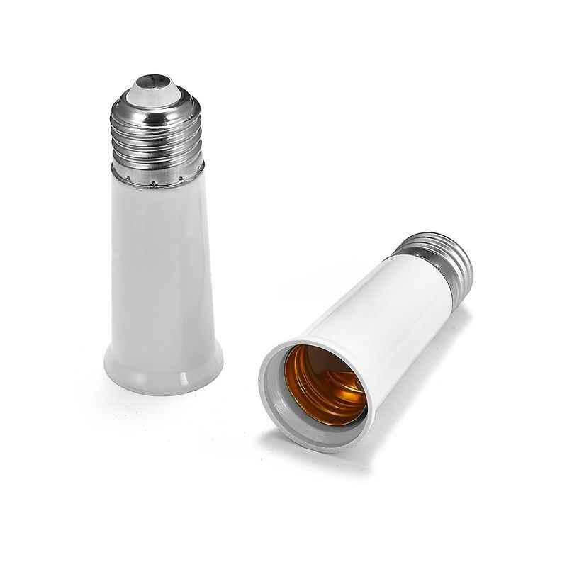 lámpara E27 Adaptador lámpara extender la a E27L adaptador Base de soporte a el enchufe E26L de la de E26 de convertidor del la de extensión la eHEI2bD9WY