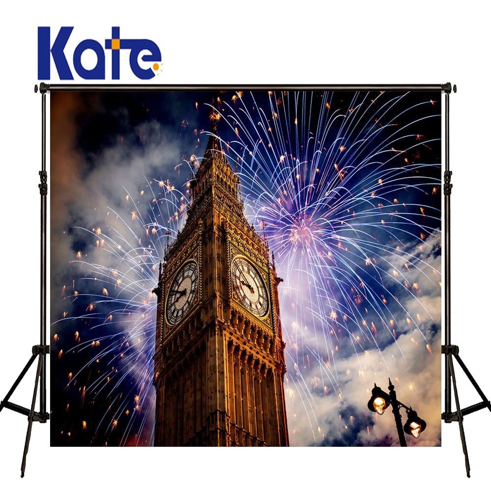 KATE Photo Background Scenery Photography Backdrops Happy New Years Backdrop Firecracker Fireworks Backgrounds Children Backdrop