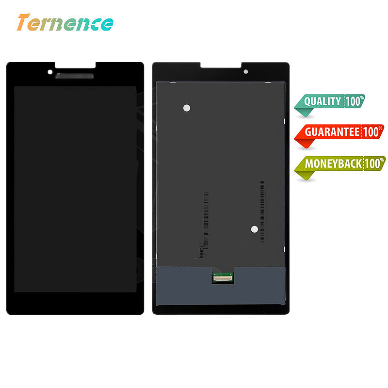 skylarpu LCD For Lenovo Tab 2 A7-30/A7-30DC/A7-30F/A7-30HC Tablet Pc Display Touch Screen Digitizer Glass P070ACB-DB1 REV.A3 for lenovo tab 2 a7 30 a7 30hc 2nd touch screen digitizer glass lcd display monitor assembly free shipping
