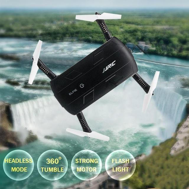 Original High Quality Elfie RC Quadcopter Drone WIFI FPV Real-time Transmission 0.3MP Foldable RTF Professional Drone Great Gift