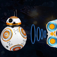 classic RC Robot BB8 BB 8 Remote control Intelligent small ball America classic movie Anime ball action robot model toy kid gift