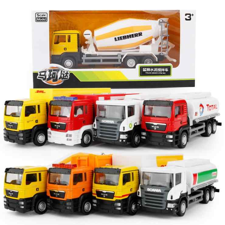 1:50 High simulation vehicle,Engineering vehicles, alloy car models toys, tankers,Diecast metal Car toys,free shipping