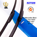 "Car Windshield Wiper Blade Para Mercedes-Benz Classe C W203 (2004-2007), 22 ""+ 22"", borracha Natural, bracketless limpa, Acessórios do carro"