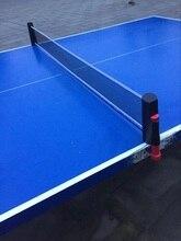 Berkualiti tinggi ditarik Jadual meja tenis plastik Mesh kuat Net bersih mudah alih Kit bersih rak menggantikan kit untuk ping pong bermain