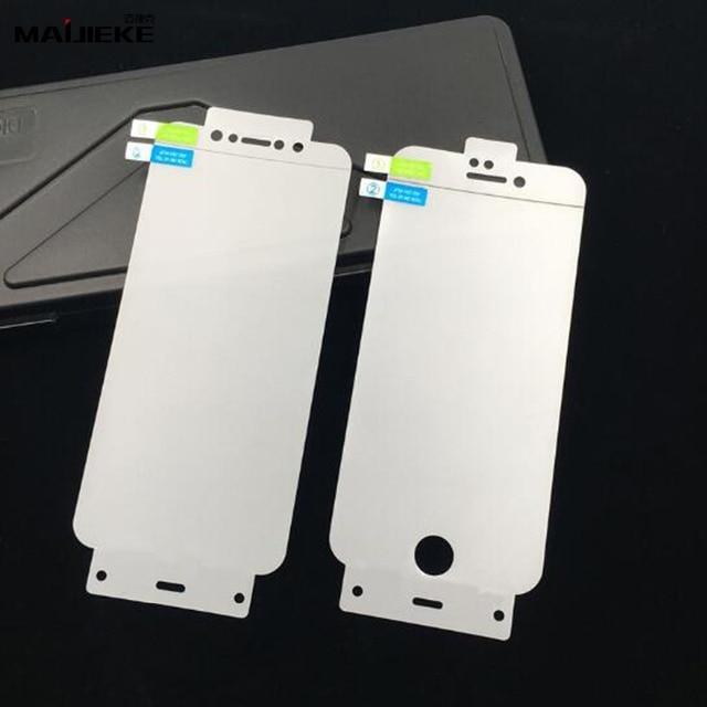 2 sztuk pełna pokrywa hydrożel przednia i tylna folia dla iphone X XS Max XR 8 plus 7 6s 6 plus dla iphone 11 pro max folia zabezpieczająca ekran