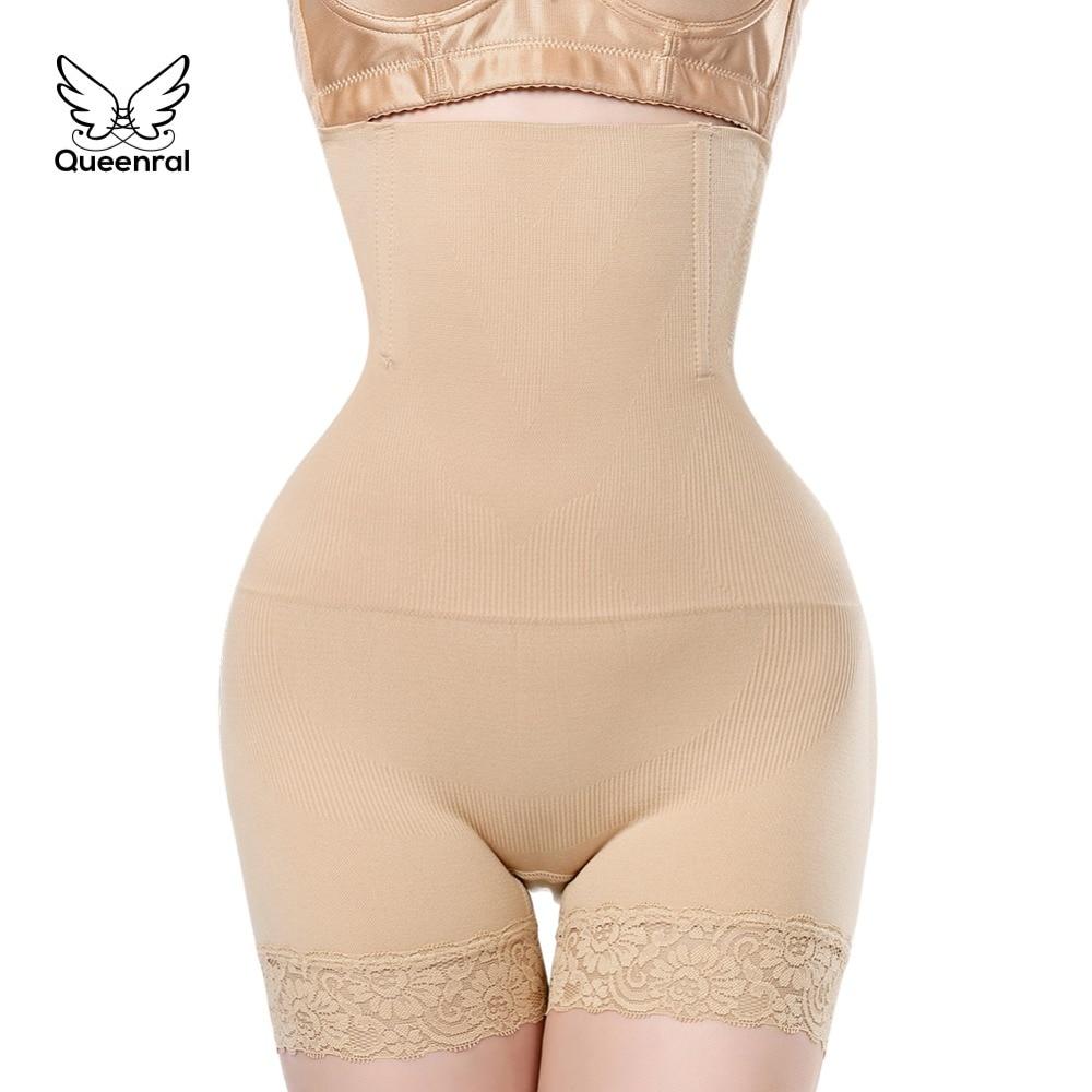 Slimming Briefs 2 pieces tummy Shaper waist trainer butt lifter Women Control Girdle Panties Corrective Underwear Modeling Strap