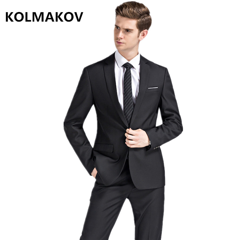 Double Noce De 2019 Single Pantalon Marié black Button Dernières Button Costume Costumes blue Designs D'affaires Smoking Pantalon Button veste Mariage Manteau Black Décontracté Hommes 6SxBBn