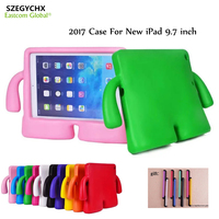 Case For New IPad 9 7 Inch 2017 SZEGYCHX Stand Cute 3D Cartoon Handle Stand Kids
