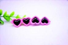 2pcs of pretty heart-shaped Yorkie Hair Bows