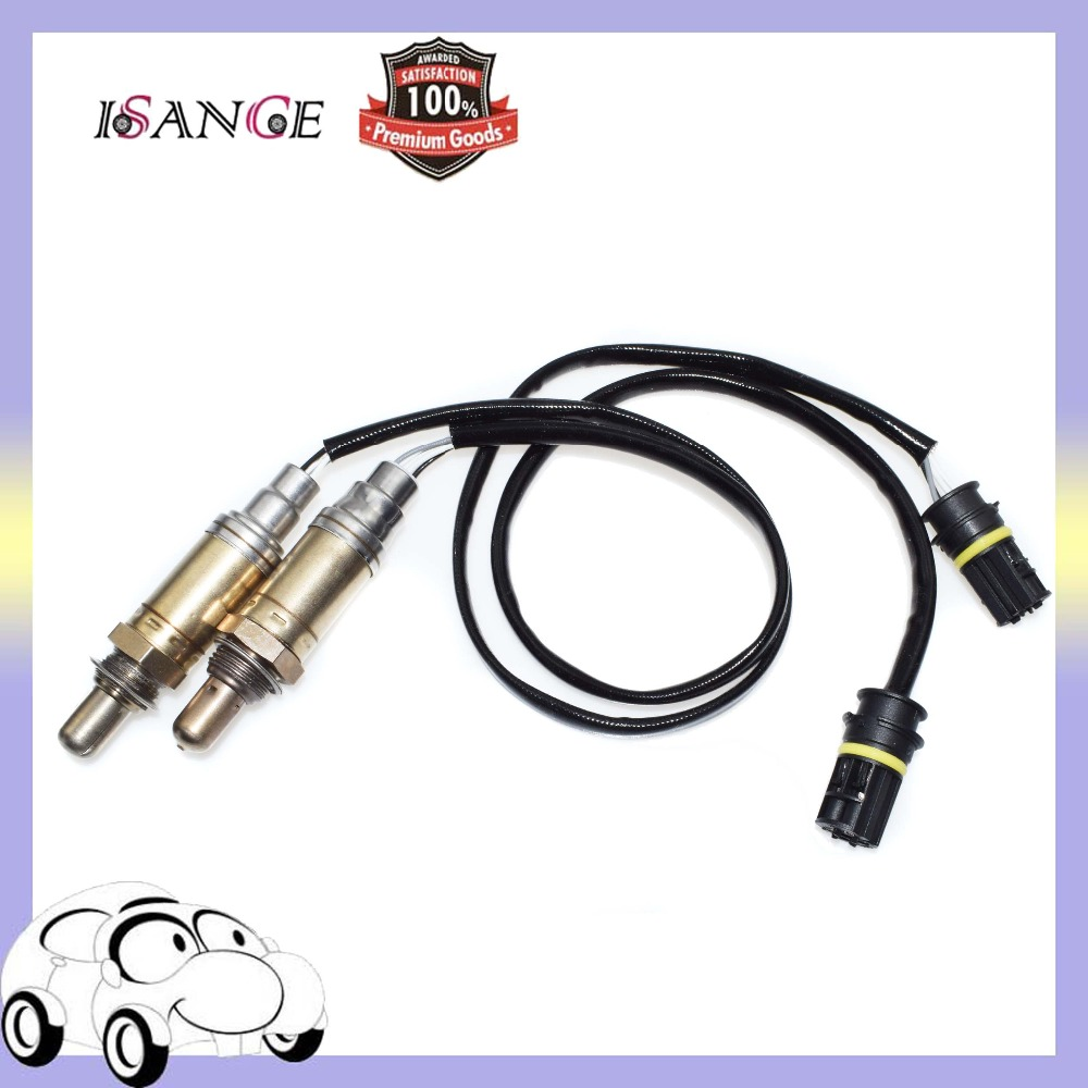 ISANCE Front Oxygen Sensor Upstream Pair For BMW E46 320 323 325 328 330 525 528