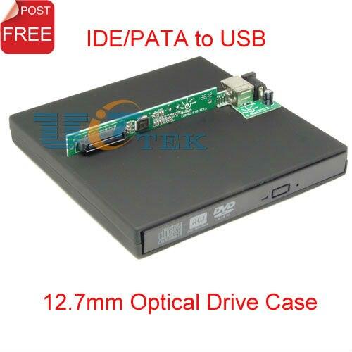 Externe Cd Dvd Lecteur Optique Boitier 127mm Ide Pata à Usb Caddy