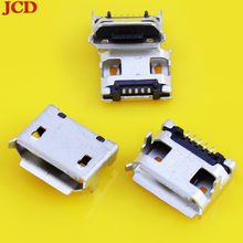 JCD Micro USB Charging Data Power Jack Port For Coolpad charger Connector for Lenovo A2107 A2207 Tablet Micro USB jack for ZTE(China)