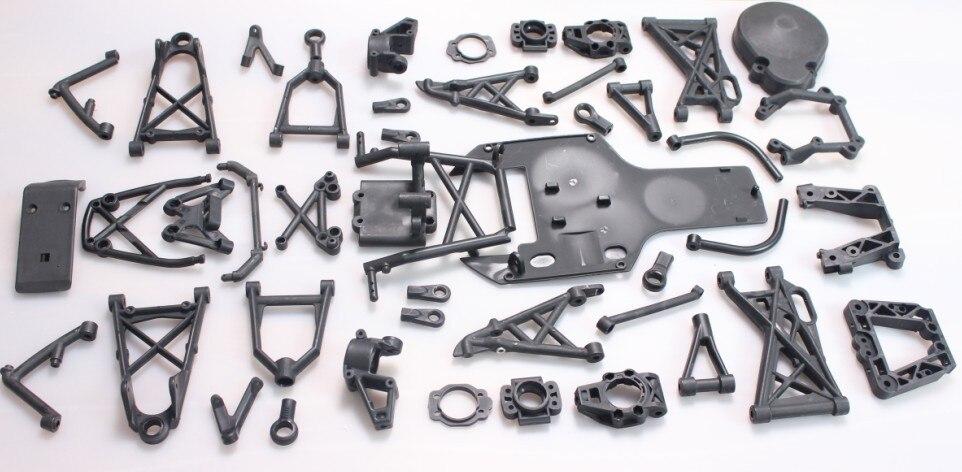 Baja 5B 5T suspension arm set Baja plastic part kit new arrivals baja new front suspension arm set
