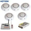 Светодиодный прожектор hotake RGB DMX для подводного освещения  небольшой настенный светильник для бассейна piscina для бассейнов и спа + контроллер ...