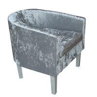 Premium Tartan Tkanina Wanna Krzesło Fotel Jadalnia Salon Recepcji Biura HOT SPRZEDAŻ