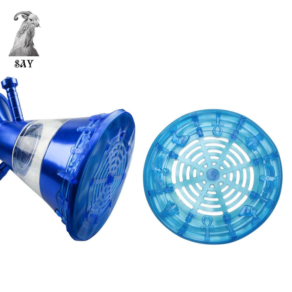 SY 큰 크기 Shockproof Shisha 유리 병 매트, 정장 20cm 물 - 가정 용품