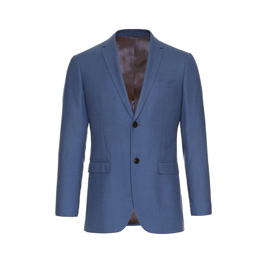 Men Business Suit Wedding Dress Groom Tuxedos Groomsman Suits Blazer ...