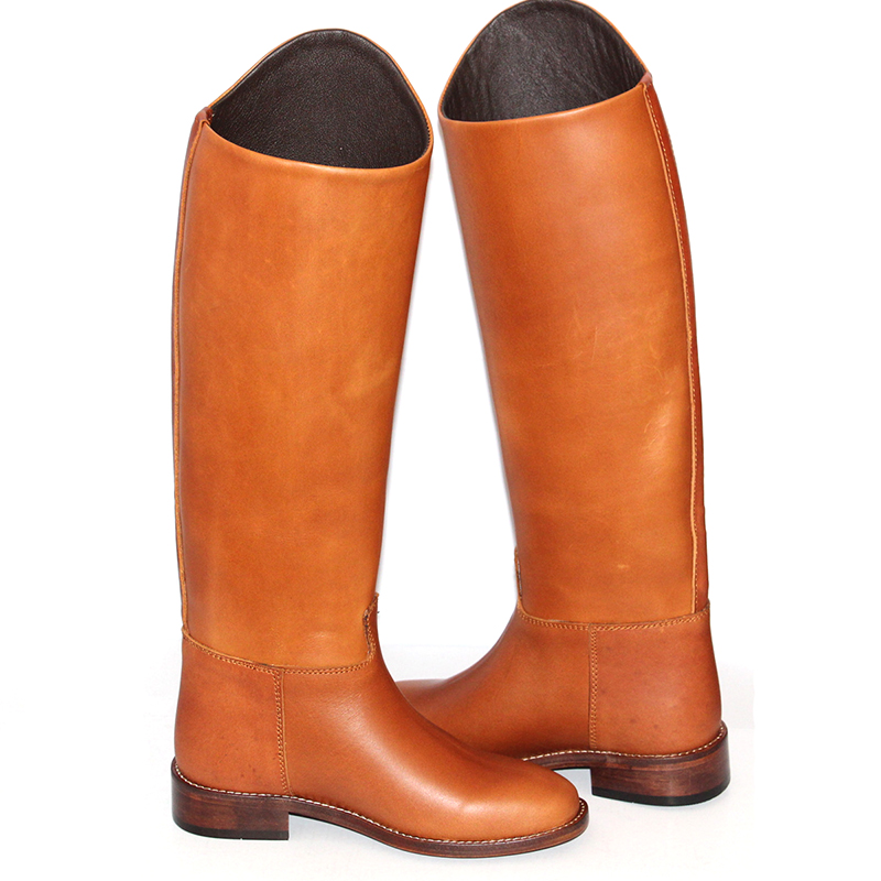 Aoud Saddley Horse Riding Boots Full Leather Leather Lining Dressage Boots Equestrian Boots Shoes Unisex Customized Paardrijden