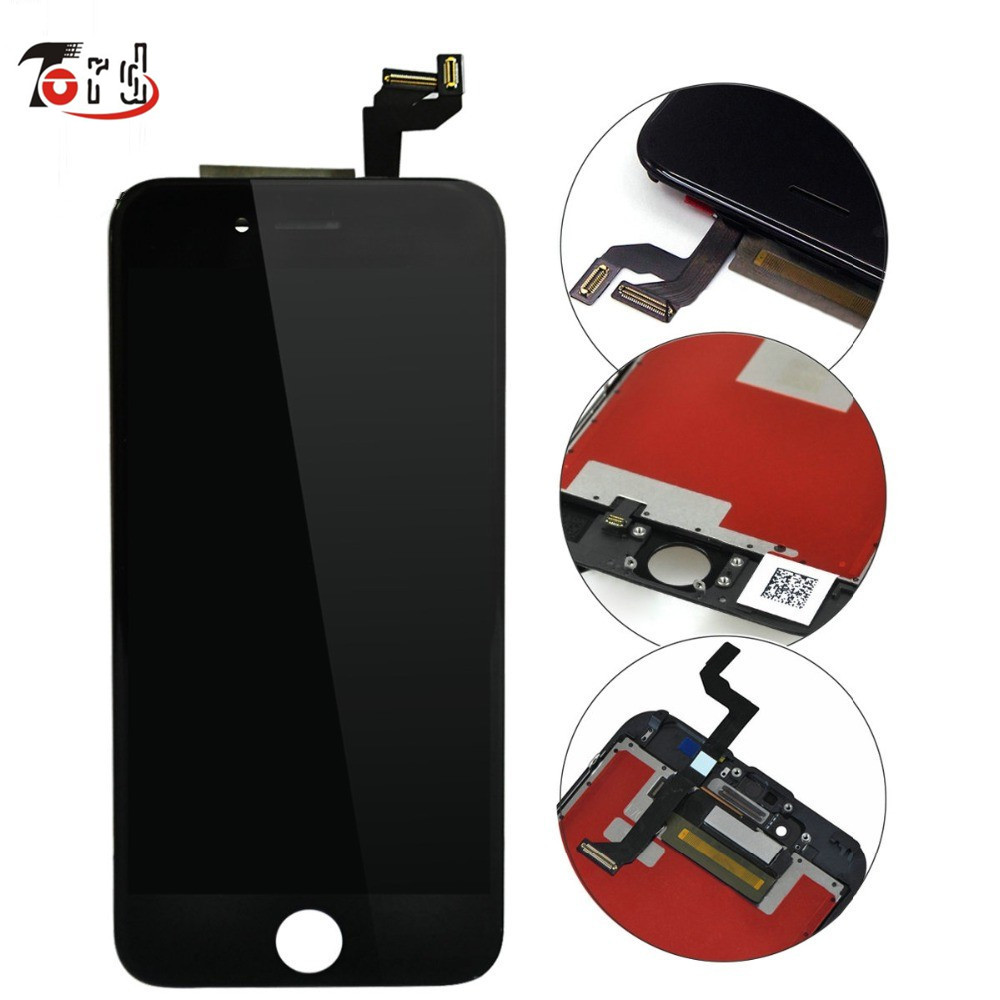 ФОТО  100% Genuine AAA Replacement LCD For iPhone 6s LCD with Digitizer Assembly with 3D Touch Screen Free DHL Shipping
