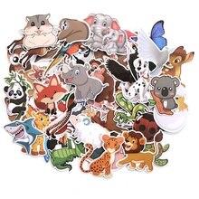 48pcs Animal Zoo World Art print home decor wall notebook phone luggage laptop bicycle scrapbooking M2615