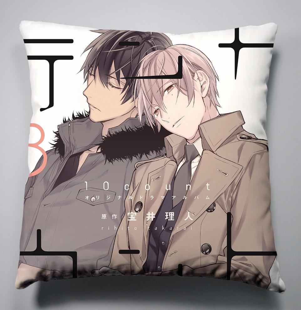 Anime Manga TEN COUNT  Pillow 40x40cm  Case Cover Seat Bedding Cushion 002|pillow 40x40cm|anime pillow cushion|case cushion - title=