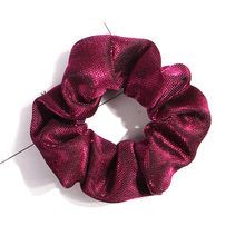 Fashion Bright Silk Elastic Hair Ties For Girls Solid Color Shiny Glitter Hairbands Scrunchies Women Hair Rope Rings Hair Holder(China)