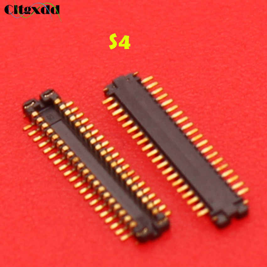 Cltgxdd 1 قطعة شاشة الكريستال السائل شاشة FPC موصل سامسونج A3 A5 A8 A9 J100 J200 نوت 2 نوت 3 نوت 4 نوت 5 S3 S4 S5 S6 حافة