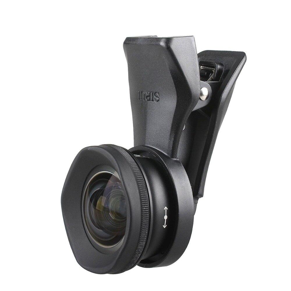 Sirui 18/60 MM grand Angle 10X MacroPhone objectif HD 4K Fisheye téléobjectif Portrait caméra lentilles de téléphone pour iPhone Xs Max 8 7 Huawei