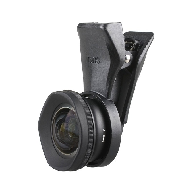 Sirui 18MM MacroPhone HD Lente Grande Angular 10X 4K Fisheye Telefoto Retrato Lentes de Câmera Do Telefone para o iphone Xs max X 8 7 Huawei