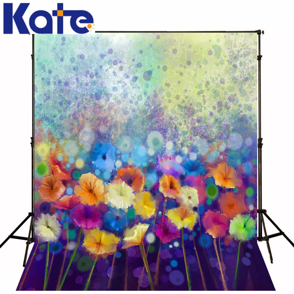 Kate Floral Background Photography Girl Fairy Princess Photography Background Foldable Washable Children Photo Backgrounds vinyl photography background fairy tale