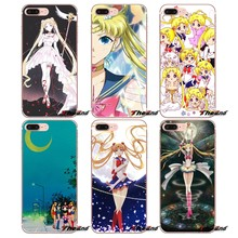 Versi Girly lucu Sailor Moon Kristal Kasus Untuk Samsung Galaxy S9 Ditambah catatan 8 One Plus oneplus 5 T Meizu M5s LG HTC U11 V30(China)