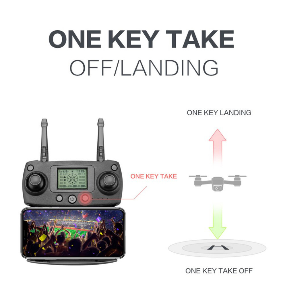 C FLY Dream 5G Altitude Hold Drone GPS Optical Flow Positioning Follow Me RC Quadcopter with 720P HD Camera One Key Return - 4