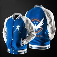 新しい送料無料野球ジャケットガンダムshdジャケットsweatershirt no帽子、最高品質、米国サイズ。