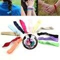 10Pcs Women Elastic Bracelets Knot Rubber Tie Hairband Ponytail Holder Girls