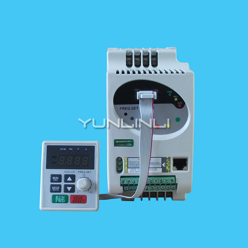 Vector Frequency Converter 220V 0.75KW 1.5KW 3.0KW Strong Anti-interference Fine Drive Inverter VFD-V Vector Frequency Converter 220V 0.75KW 1.5KW 3.0KW Strong Anti-interference Fine Drive Inverter VFD-V