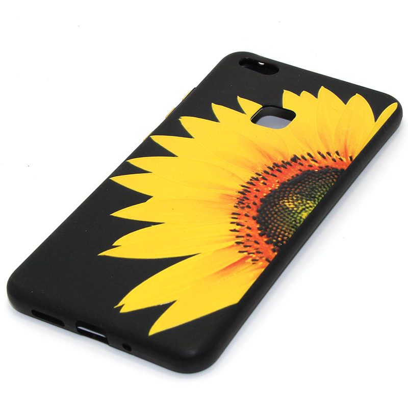 3D Relief flower silicone huawei P10 lite (13)