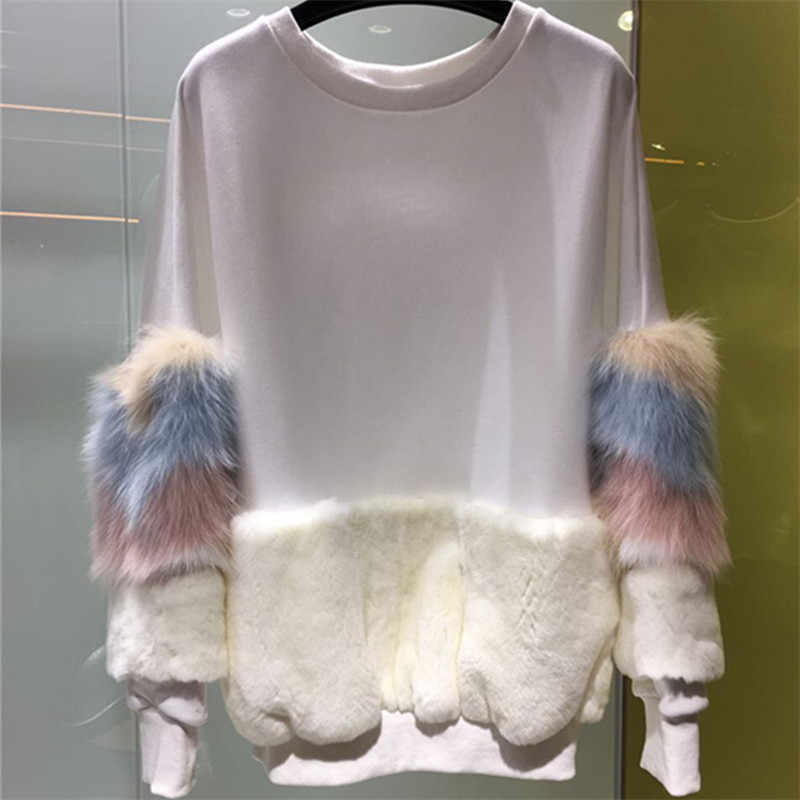 bf2b28a008 ... Cashmere Sweater Women Tops 2018. RELATED PRODUCTS. Furry Christmas  Sweater Women 2018 Cardigans and Knitwear 3D Cute Fur Plush Balls Womens  Fur Jacket