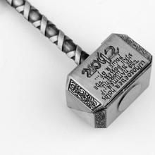 Thor's Hammer Metal Key Ring