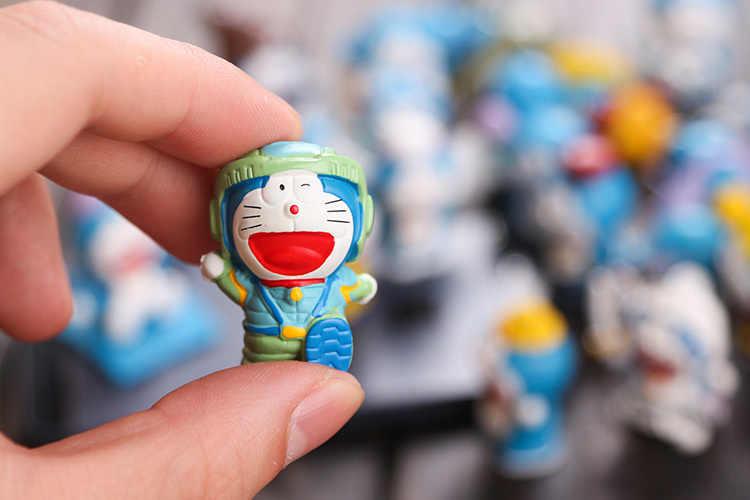 Anime 24 Cái/bộ Doraemon 1/12 Quy Mô Vẽ Hình Nhựa PVC Búp Bê Đồ Chơi 5 Cm KT1246