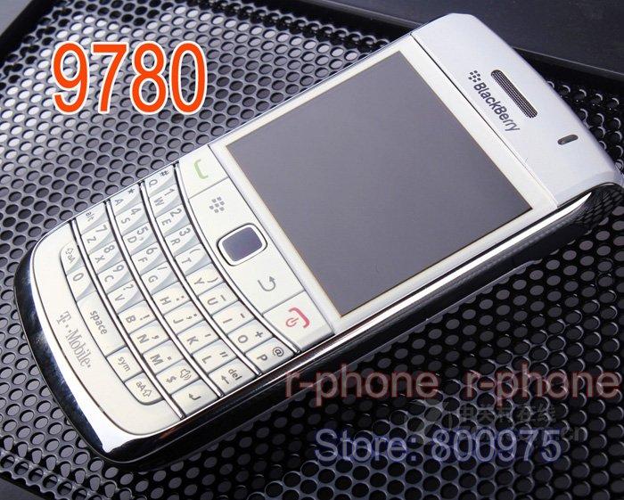 US $54 99  Refurbished Original Blackberry Bold 9780 Mobile Phone 5MP 3G  WIFI GPS Bluetooth Qwerty Keypad 9780 Cellphone-in Cellphones from  Cellphones