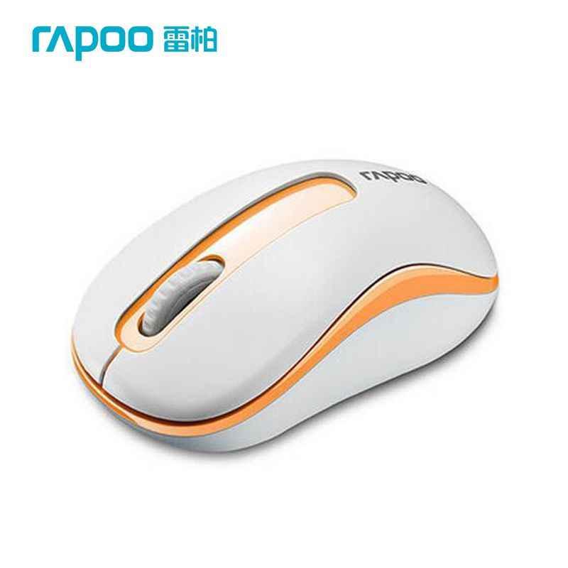 Orijinal Rapoo Mini Optik Kablosuz Fare 2.4G Güvenilir 1000 DPI Fareler Nano USB Alıcısı bilgisayar için fare Dizüstü Masaüstü