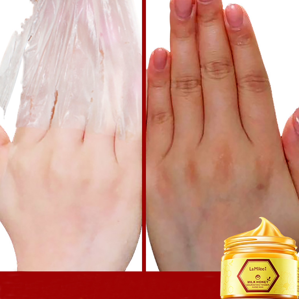 Alert 110g Honey Hand Wax White Tender Exfoliating Replenishment Propolis Hand Mask Dropshipping 2018 Step.23 Skin Care Beauty & Health