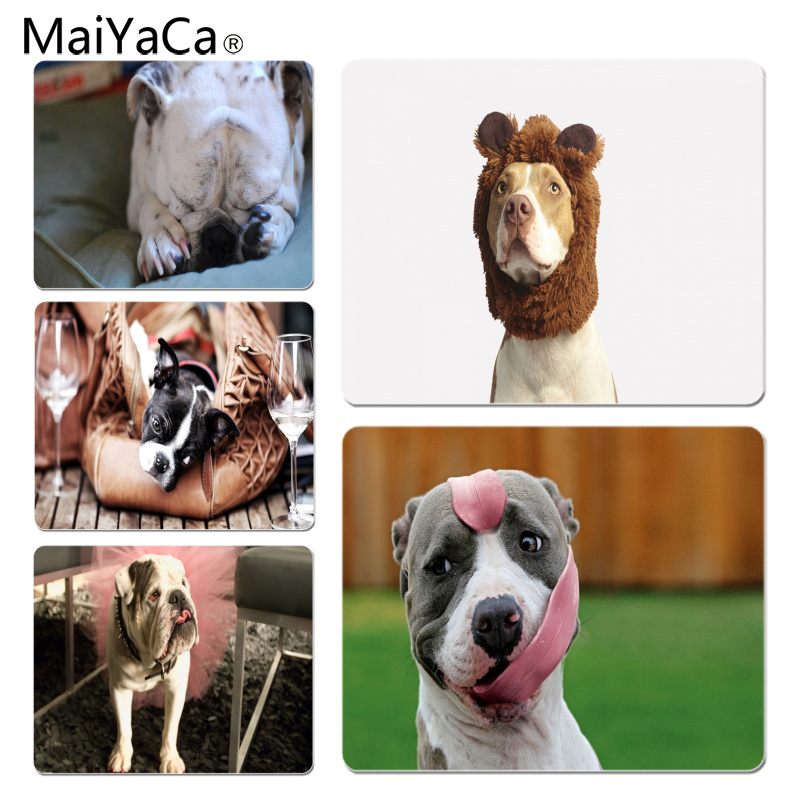 MaiYaCa Pit bull Large Mouse pad PC Computer mat Size for 18x22x0.2cm Gaming Mousepads