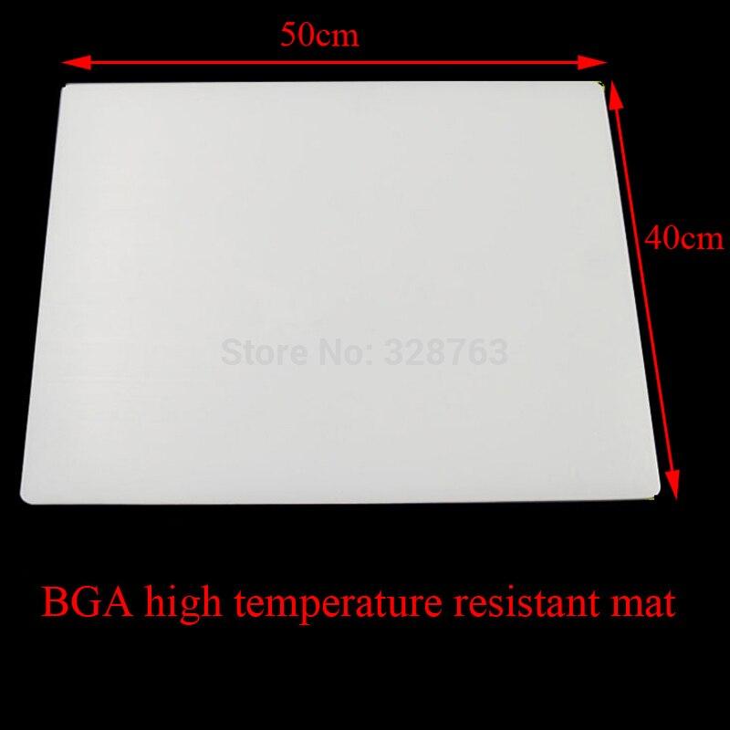 BGA Soldering Station Heat Gun Electric soldering iron Heat-resistant Repair insulation pad insulator pad desk mat 500mm 400mm