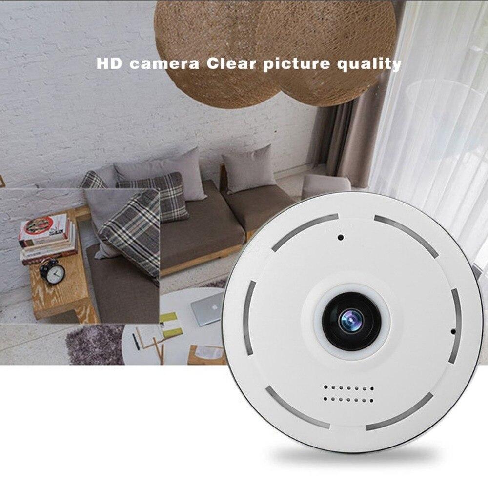 360 Degree VR Panorama Camera Mini P2P Home Security IP Camera IR Night Vision 960P HD Monitor Surveillance Security Camera цена