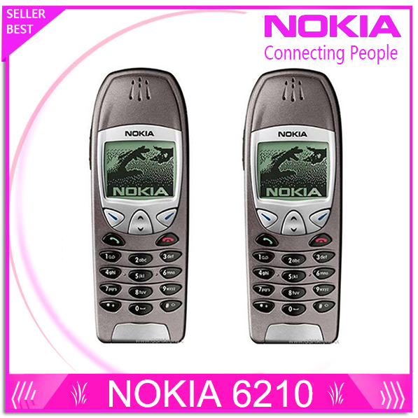 6210 Refurbished Original Nokia 6210 Mobile Cell Phone 2G GSM 900 1800 Unlocked Cellphone