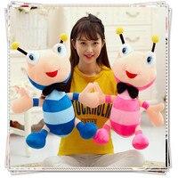 Kawaii Formigas bonecos brinquedos para crianças mickey bonito bichos de pelúcia com grandes olhos ty brinquedos bob esponja macia bonecas dia dos namorados presente