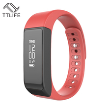 TTLIFE I5 Plus Smart Bracelet Bluetooth 4.0 Waterproof Touch Screen Fitness Tracker Health Wristband Sleep Monitor Smart Watch