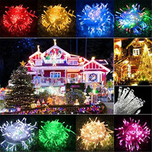 10M 20M 30M 50M 100M Fairy LED String Light Waterproof AC 220V Christmas Lights Holiday Decoration Indoor Outdoor Lighting